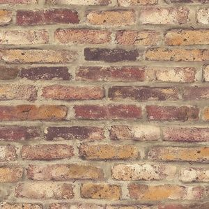 Other - Peel & Stick Removable Rustic Red Brick Wallpaper